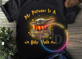My Patronus is a baby Yoda x Harry Potter T shirt