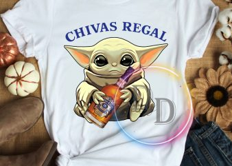 Yoda child funny chivas regal T shirt star wars