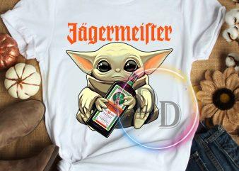 Yoda funny Jagermeister funny Star wars T shirt