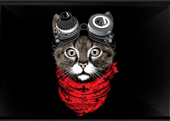 Catpunk t shirt design to buy