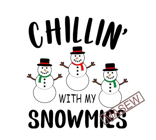 Chillin With My Snowmies Svg Snowman Svg Kids Christmas Svg Boy Winter Shirt Boy Holidays Svg Snow Cute Svg Files For Cricut Png Dxf Commercial Use T Shirt Design Buy T Shirt Designs