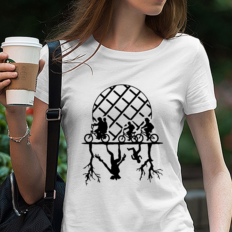Stranger Things – Upside Down – Hawkins Eleven Demogorgon – Friend Don't Lie EPS SVG DXF PNG commercial use t shirt designs