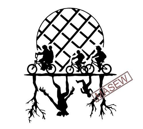 Stranger Things – Upside Down – Hawkins Eleven Demogorgon – Friend Don't Lie EPS SVG DXF PNG t shirt design for purchase