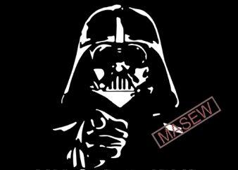 Hello Darkness My Old Friend, Star Wars, Movie, EPS SVG DXF PNG Digital Download graphic t shirt