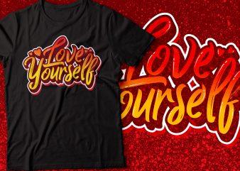 love yourself | bible t-shirt | christian t-shirt | religion t-shirt