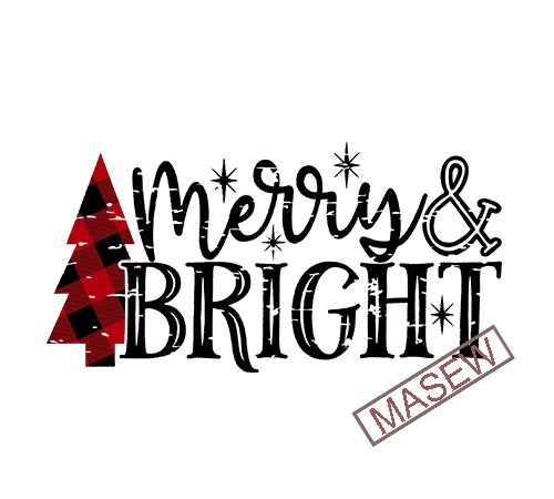 Christmas Svg Cut File Merry Bright Svg Buffalo Plaid Distressed Christmas Tree Svg Cut File Christmas Cut File Merry Christmas Svg Digital Download T Shirt Design For Purchase Buy T Shirt