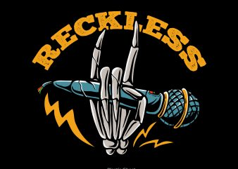 reckless t shirt design online