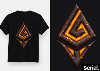 Ethereum Gaming T-Shirt Design