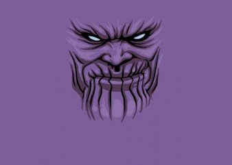 Thanos Mask t shirt designs for sale