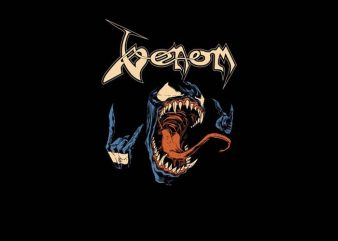 Venom Metalhead t shirt vector art