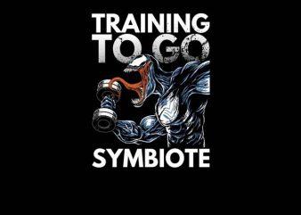 Venom Training t shirt vector art