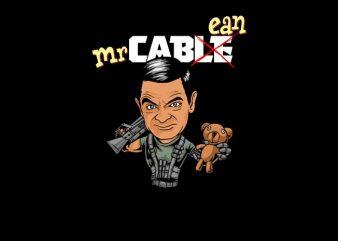 Mr Cabean t shirt designs for sale