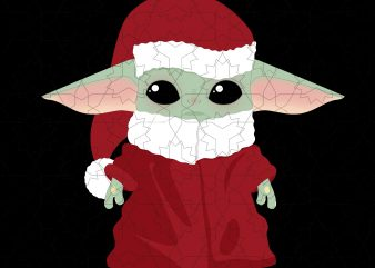 Baby yoda, Baby yoda christmas t shirt template