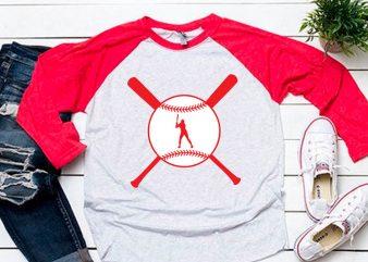Baseball svg Ready to Hit for baseball lover tshirt