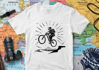 Illustration svg file for adventure tshirt