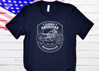 Classic American t-shirt design