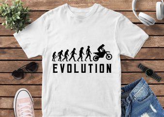 Evolution t-shirt design