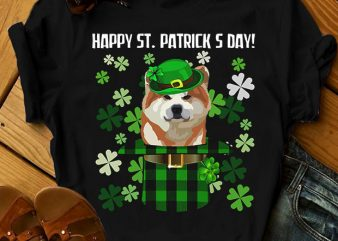 32 dog breeds – Happy St Patrick Day Dog t-shirt design for sale