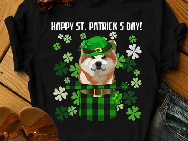 32 dog breeds – Happy St Patrick Day Dog t-shirt design for sale