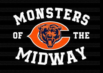 Monsters of the midway bears svg,Chicago Bears logo svg,Chicago Bears logo,Chicago Bears svg,Chicago Bears png,Chicago Bears design,Chicago Bears football svg,Chicago Bears football,Chicago Bears file,Chicago Bears cut file,Chicago Bears NFL,Chicago Bears design
