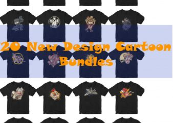 new cartoon design bundles