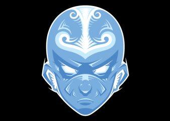 Aang – Avatar State tshirt design vector