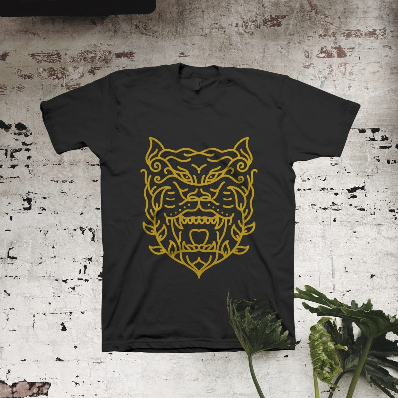 Natural Tiger tshirt factory