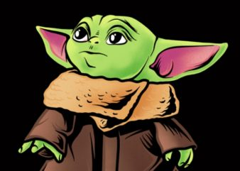 baby yoda png (Transparant Background), baby yoda, the mandalorian the child png , star wars png, the child png t shirt template