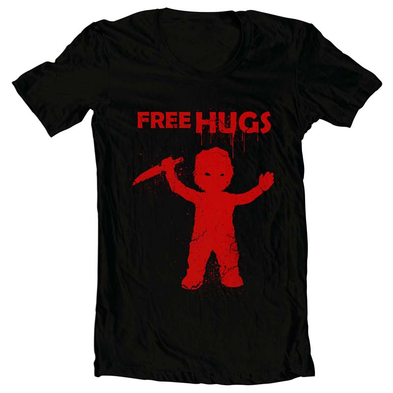 chucky hugs buy t shirt designs artwork