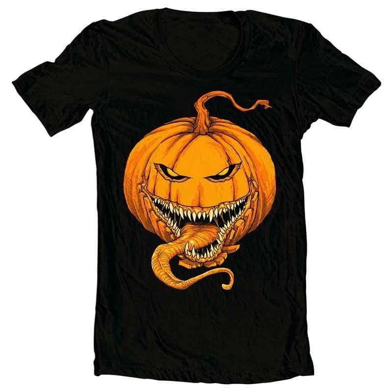 Halloween tshirt design for merch by amazon