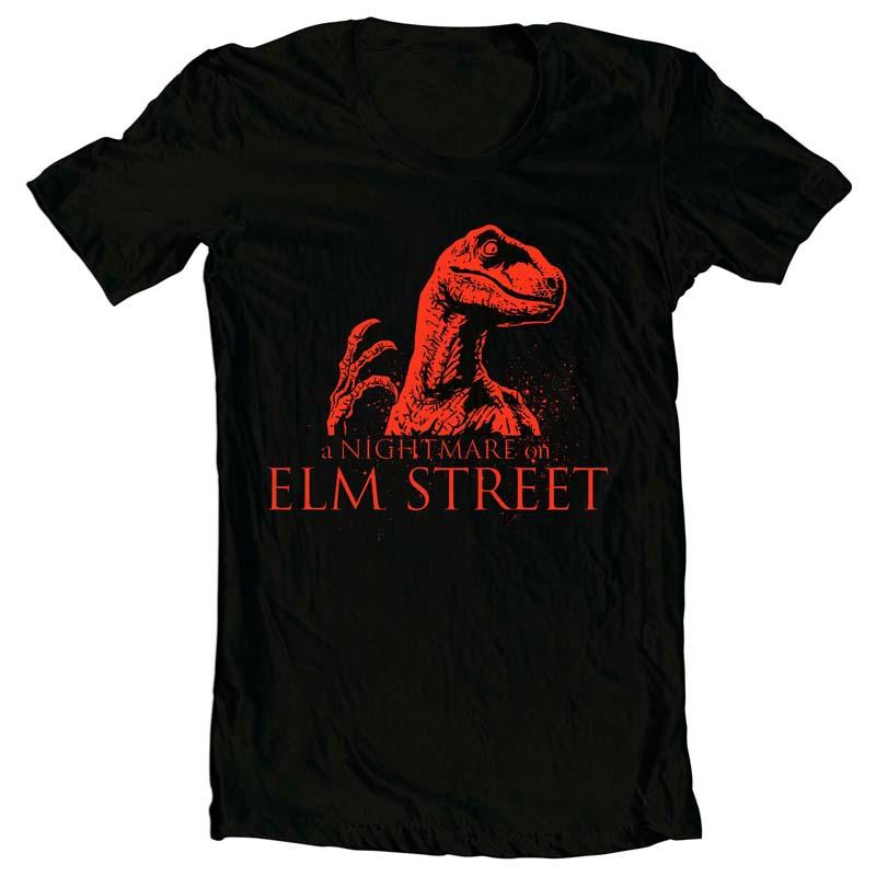 Raptor Nightmare tshirt design for merch by amazon