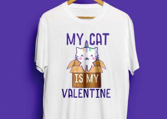 Cat Valentine graphic T shirt design
