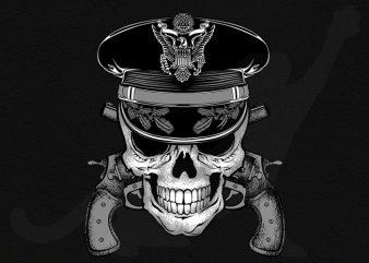 Cop and Guns buy t shirt design