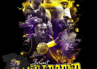 Kobe Bryant The Legend! T-SHIRT and Poster design shirt design png