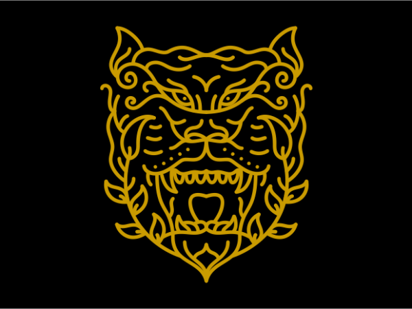 Natural Tiger t shirt design png
