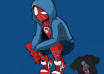 CUTE SPIDERMAN ON CAMERA t shirt vector file