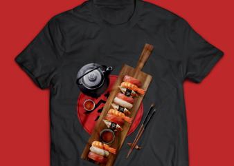 Sushi – Sashimi Party T-shirt