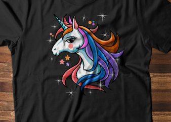 UNICORN buy t shirt design artwork