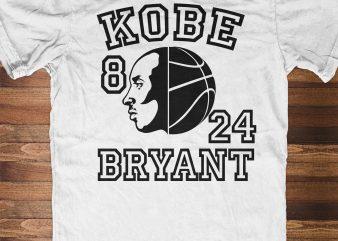 KOBE BRYANT illustration t-shirt design for sale