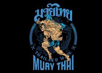 Muay Thai 9 t shirt designs for sale