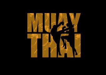 Muay Thai 10 t shirt design for sale