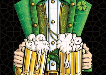 Leprechaun Costume Patricks Day Beer Drinking Digital Download – St Patricks Day Digital – Funny Leprechaun Gifts t shirt vector graphic