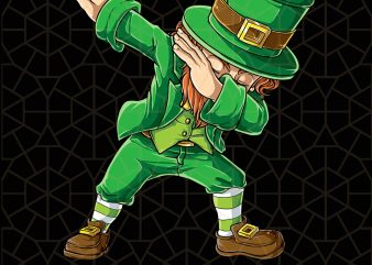 St Patricks Day Dabbing Leprechaun Gifts Dab Digital Download – St Patricks Day Digital – Funny Leprechaun Gifts t shirt template vector