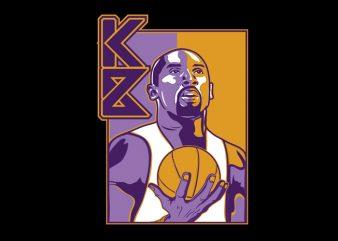 kobe bryant shirt design png