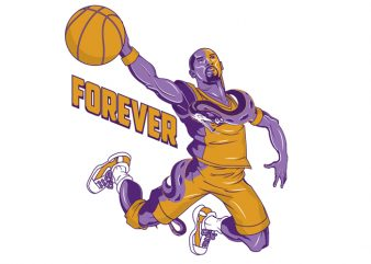 kobe bryant5 graphic t-shirt design