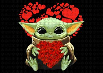 Baby yoda valentine png, baby yoda png valentine png, Star wars png, jpg files t shirt template
