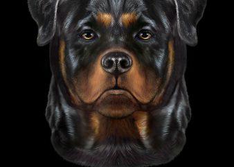 Rottweiler Dog Face Png Download – Funny Dog Digital Files t shirt design online