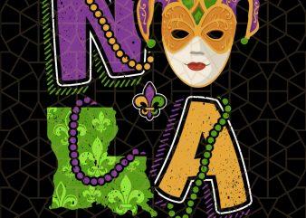 Mardi Gras For Women Louisiana State Map Beads PNG Download – Mardi Gras Digital Download t shirt designs for sale