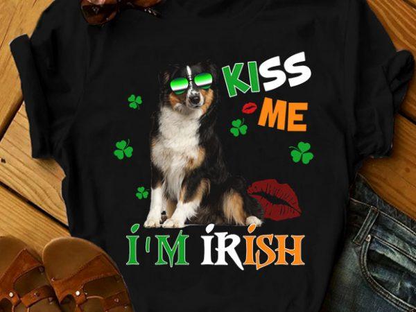 42 dog breeds – Kiss me I'm Irish Dog Version t-shirt design png