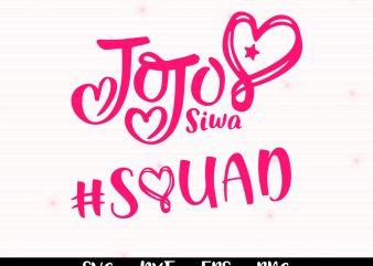 Jojo siwa squad svg,Jojo siwa logo svg,Jojo siwa svg,Jojo siwa shirt svg,Jojo siwa shirt download,Jojo siwa shirt design,Jojo siwa clipart